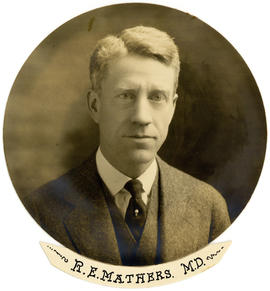 Portrait of R.E. Mathers
