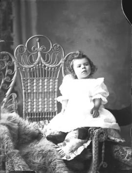 Photograph of Mrs. Coleman's baby