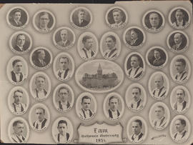 Composite photograph of Faculty of Law class of 1934