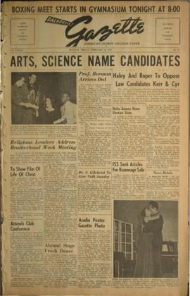 Dalhousie Gazette, Volume 84, Issue 34