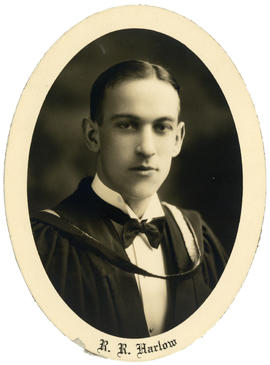 Portrait of Ralph Roland Harlow : Class of 1929