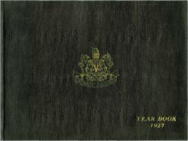Dalhousie University yearbook 1927