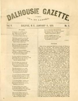 Dalhousie Gazette, Volume 5, Issue 5
