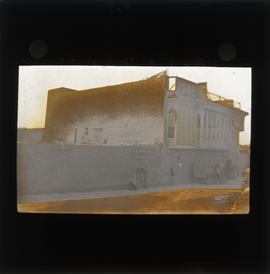 Photograph of an unidentified building