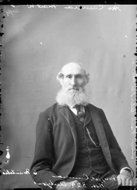 Photograph of Mr. Cameron