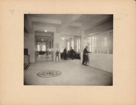 Photograph of Outpatient and Public Health Clinic, view from entrance hall