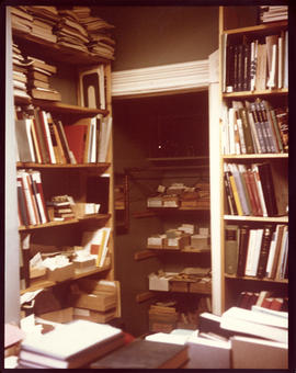 Photograph of Medical-Dental Library Cataloging Office in the 5963 College Street building