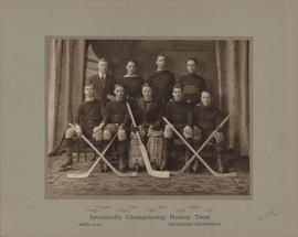 Photograph of Interfaculty Championship Hockey Team - Faculty of Arts