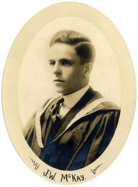 Portrait of Joseph William McKay : Class of 1918