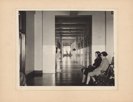 Photograph of Outpatient and Public Health Clinic, waiting room
