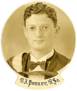 Portrait of D.J. Posner : Class of 1939