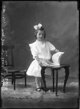 Photograph of Mrs. James McLeod's daughter