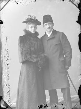Photograph of Frank McNeil and Laura