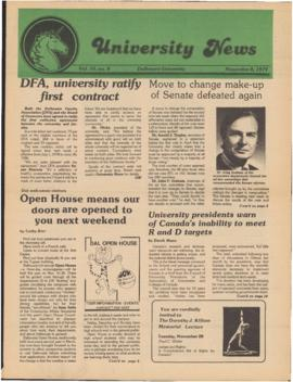 University News, Volume 10, Issue 8