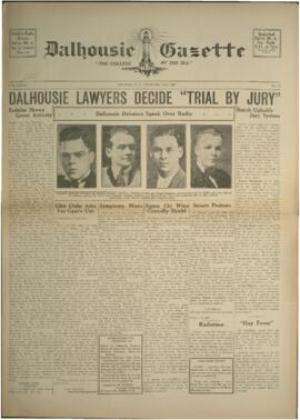 Dalhousie Gazette, Volume 69, Issue 16
