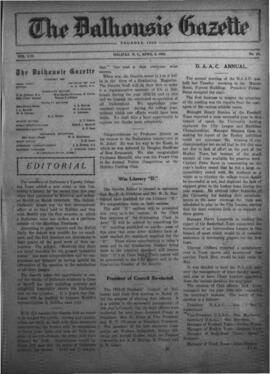 The Dalhousie Gazette, Volume 56, Issue 11