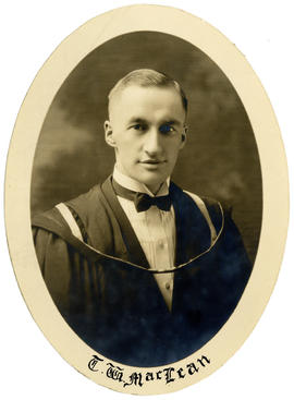 Portrait of Thomas Walter MacLean : Class of 1924