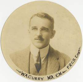 Portrait of W.A. Curry
