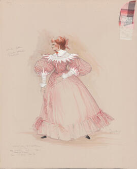 Costume design for Mary : Act I, scene I