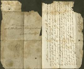 One letter to James Dinwiddie from William Steven
