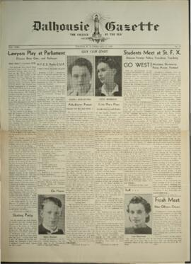 Dalhousie Gazette, Volume 71, Issue 17