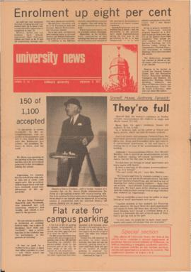 University News, Volume 3, Issue 1