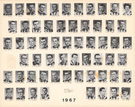Composite Photograph of the Faculty of Medicine - Class of 1967