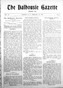 The Dalhousie Gazette, Volume 51, Issue 3
