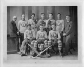 Maritime Telephone and Telegraph Company hockey team winners of Winfield cup