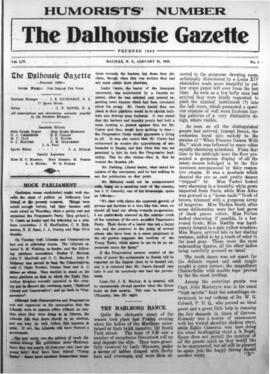 The Dalhousie Gazette, Volume 54, Issue 4