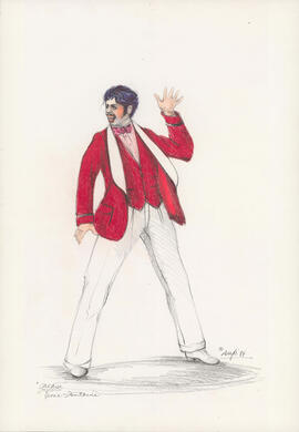Costume design for Vince Fontaine