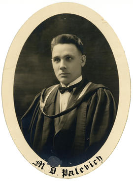 Portrait of Matthew Dominic Palevitch : Class of 1926