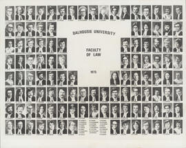 Composite photograph of Faculty of Law - Graduates - 1975