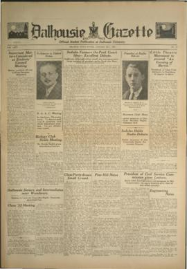 Dalhousie Gazette, Volume 63, Issue 12