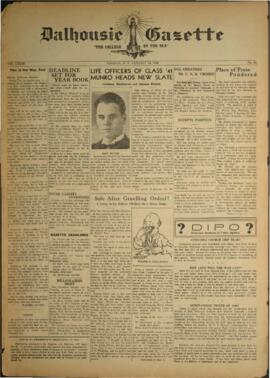 Dalhousie Gazette, Volume 73, Issue 12