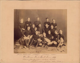 Photograph of Dalhousie Football Team - 1887