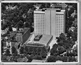 Aerial photograph of Sir Charles Tupper Building
