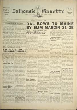 Dalhousie Gazette, Volume 68, Issue 12