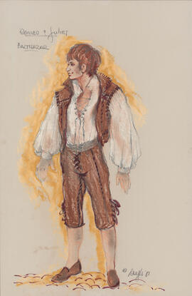 Costume design for Balthazar