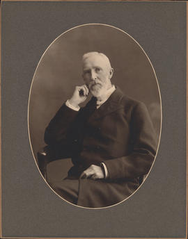 Photograph of Reverend Joseph Henry Chase