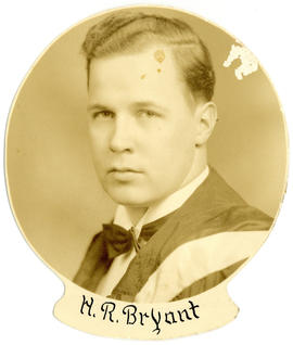 Portrait of Harold Russel Bryant : Class of 1939