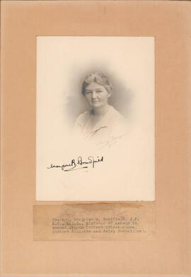 Photograph of Margaret G. Bondfield, British Minister of Labour