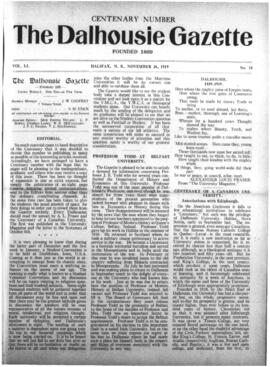 The Dalhousie Gazette, Volume 51, Issue 18