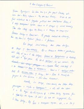 The social enterprises of mankind by Elisabeth Mann Borgese : [handwritten draft and typed copy]
