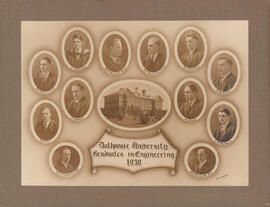 Composite photograph of Graduates in Engineering 1930