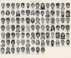 Faculty of Medicine - 4th year class photo 1975-76