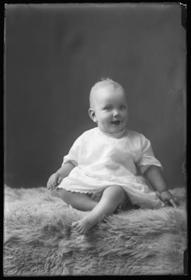 Photograph of the baby of Mrs. Gregor McLeod
