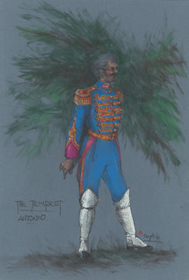Costume design for Antonio