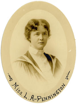 Portrait of Louise Alberta Pennington : Class of 1916