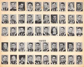 Composite Photograph of the Faculty of Medicine - Class of 1960